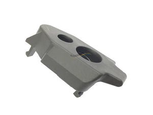 Front Receiver Cover - Black (Parts No.3) For KWA MP7 GBB