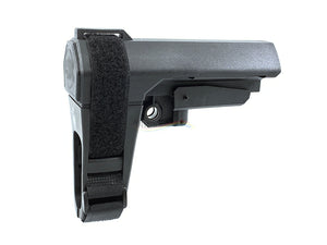 Clone Tactical SBA3 Pistol Stabilizing Brace for Mil-Spec Extension Platforms (Black)
