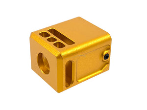 5KU Micro V3 Comp 14mm CCW Thread (Gold)