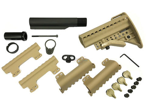 Guarder Real Stock Set for Tokyo Marui M4 AEG