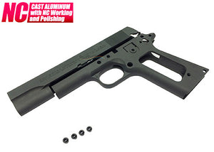 Guarder Aluminum Slide & Frame for Marui M1911A1 (National Matc)