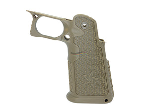Nova STI 2011 Style Custom Polymer Grip for Marui Hi-Capa GBB (Tan)