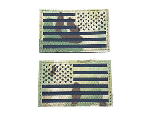 Dummy IR USA Patch Left & Right Slide (Set of 2)