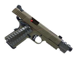 KJ Works KP16 Full Metal Costa ATEi Version GBB/CO2 Pistol (FDE)