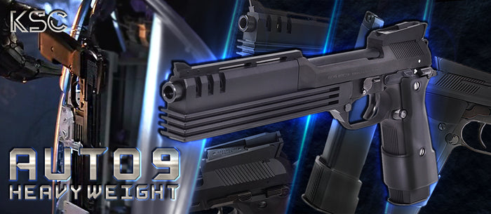 KSC M93R Auto9 C (Robocop) GBB Pistol - Heavy Weight New Japan Ver.