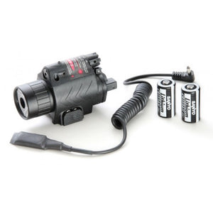 SAA QD M6 CREE LED Flash Light & Laser