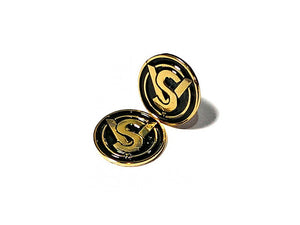 ADEPOT CUSTOM SV Style Metal Grip Badge for Hi-Capa (Gold Black)