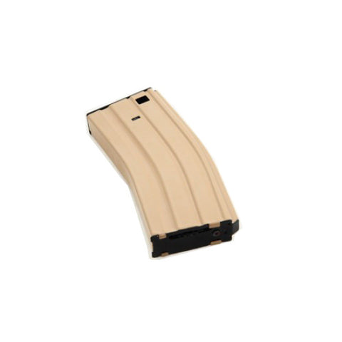 SAA 350rd Hi-Cap Metal Magazine for M4/M16 AEG (Tan)