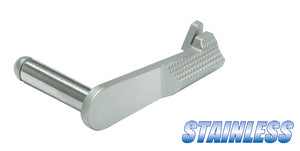 Guarder Stainless Slide Stop for MARUI M1911 (Silver)
