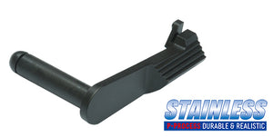 Guarder Stainless Slide Stop for MARUI M45A1 (Black)