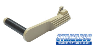 Guarder Stainless Slide Stop for MARUI M45A1 (FDE)