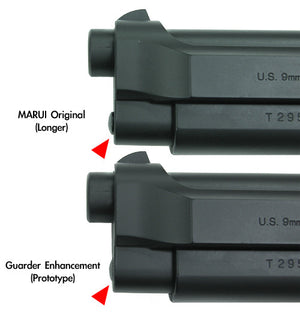 Guarder Stainless Recoil Spring Guide for MARUI/KJ M9/M92F (Sliver)