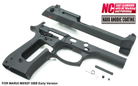 Guarder Aluminum Kit for MARUI M9 GBB Early Type A (2018 New Ver. / Black)
