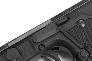 Guarder Steel Slide Stop for Marui M9/M92F Series - Dark Grey