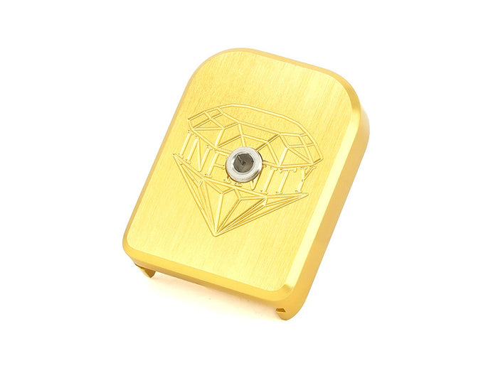 Airsoft Masterpiece SV Infinity Diamond Aluminum Magazine Base (2018 Ver.) For Marui 5.1 (Gold)