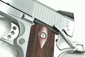 Guarder Aluminum Kit with Altamont Wood Grip for MARUI MEU .45 - (S.A. TRP/Cerakote/Hairline Polishing)