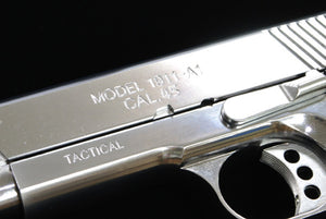 Guarder Aluminum Slide & Frame for MARUI MEU.45 (TRP/Electroplating Silver)