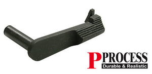 Guarder Steel Slide Stop for Marui MEU - Black