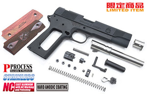 Guarder Aluminum Kit for MARUI MEU .45 - (S.A .45/Black)