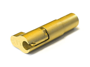 Airsoft Masterpiece CNC Stainless Steel Magazine Release Catch - STI Style (Gold)