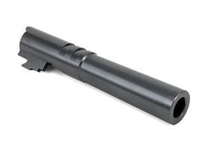 Airsoft Masterpiece .45 ACP Stainless Steel Fix Outer Barrel For Hi-CAPA 4.3 (Gun Metal Grey)