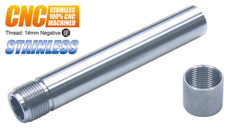 Guarder Stainless Threaded Outer Barrel for TM P226 (14mm Negative)