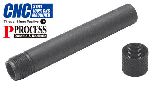 Guarder Steel Threaded Outer Barrel for TM P226 (14mm Positive)