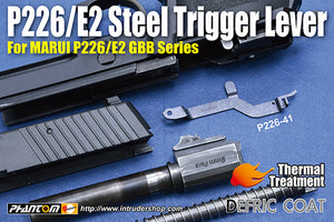 Guarder Steel Trigger Lever for MARUI P226/E2