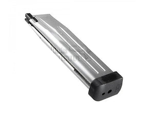 ProWin 170mm 41rd Aluminum Lightweight Magazine for Marui Hi-Capa 5.1 (Wargame Type)