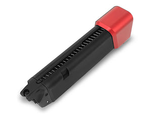 ProWin CNC 36rd STD 9mm 17RD+6RD Magazine for Marui G-Series GBB (Red Base)