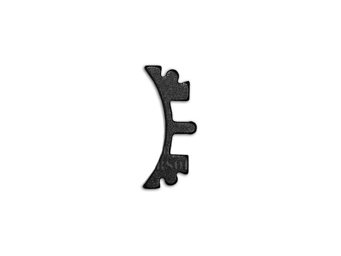 Airsoft Masterpiece Aluminum SV Puzzle Trigger Ring - Short Curve Black^
