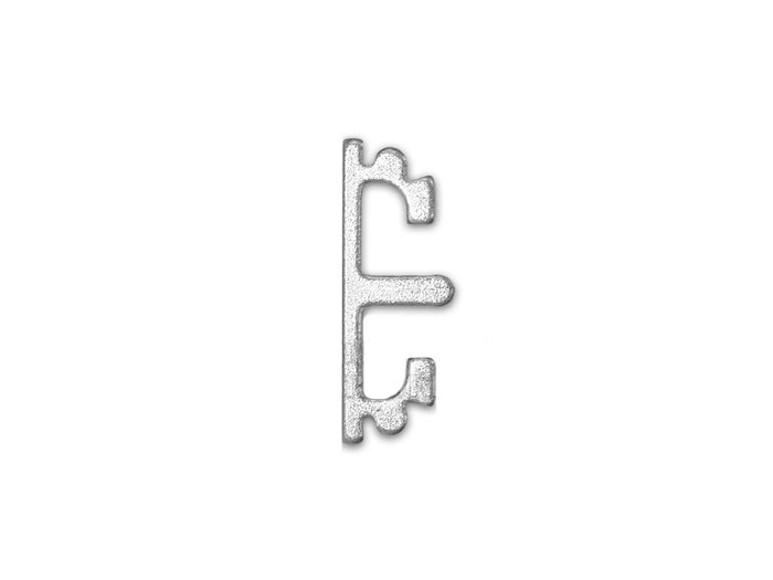 Airsoft Masterpiece Aluminum SV Puzzle Trigger - Short Flat Silver