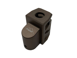 Revanchist Airsoft Compensators For SIG P320 M17 GBBP (Tan)