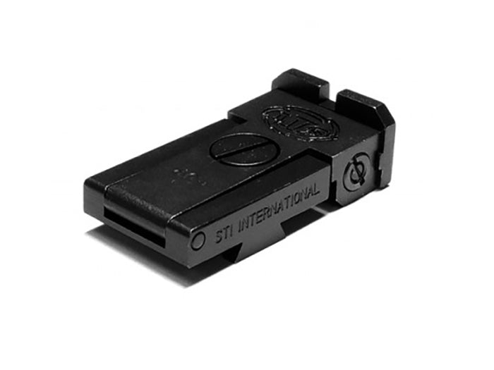 Airsoft Masterpiece Aluminum Rear Sight for Hi-CAPA - STI (Black)