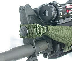 Guarder Tactical 3-Point Sling (1-1/4 inch version) BK