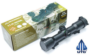UTG 1-4X28 Accushot CQB Tactical Red/Green Illuminated Reticle Scope