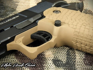 Airsoft Masterpiece Custom STI Costa Grip (Desert Sand)