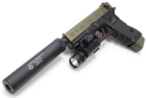Guarder AAC Compact Pistol Silencer (14mm CCW Negative)