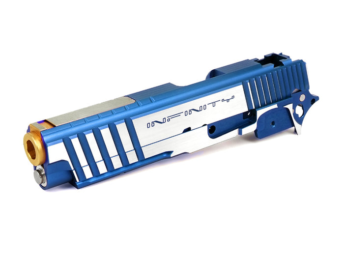 Airsoft Masterpiece Infinity R Cut Sight Tracker 5 Strips ver. Standard Kit (Blue, TwoTone)
