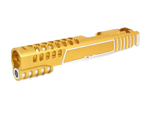 Airsoft Masterpiece ver. 12 Custom Standard Slide for Hi-CAPA / 1911 (Gold)