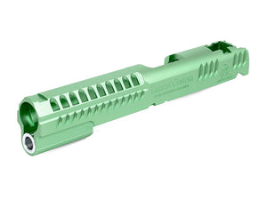 Airsoft Masterpiece LimCat Standard Slide for Hi-CAPA / 1911 (Green)