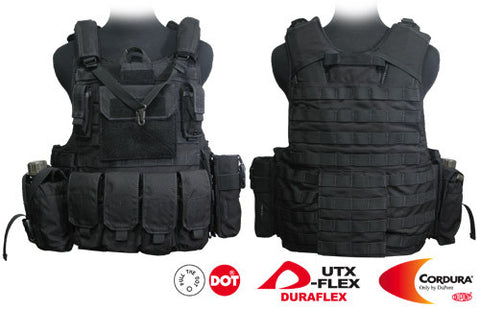 Force Recon Tactical Vest (Black)