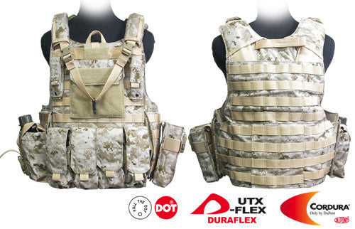 Force Recon Tactical Vest (Digital Desert)
