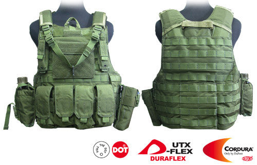 Force Recon Tactical Vest (Oliver Drab)