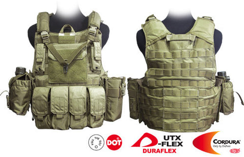 Force Recon Tactical Vest (Dark Tan)