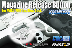 Guarder CNC Stainless Magazine Release Button for MARUI V10