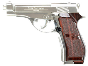 WinGun M84 Full Metal CO2 Pistol (SV, 6mm)