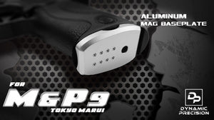 DP ALUMINUM MAG BASEPLATE FOR M&P9 GBB (SILVER)
