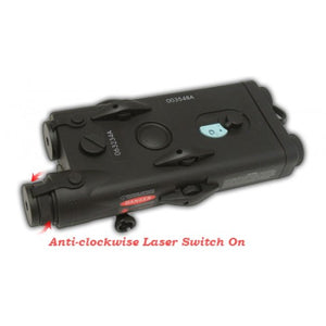 SAA PEQ Battery Case With Laser Pointer - Extra Large