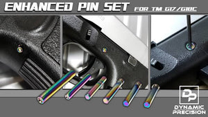 DP Stainless Steel Pin Set (Rainbow) For TM G17 / G18C GBB